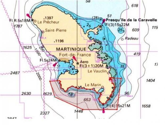 Pêche aux oursins blancs ouverte et restreinte pour les marins-pêcheurs de Martinique