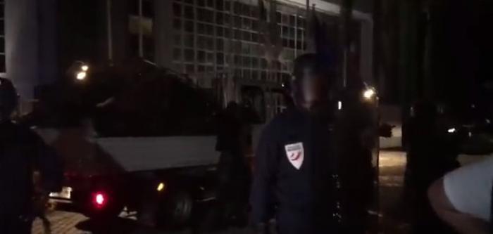 PNM : les grévistes délogés de la CTM par une vingtaine de policiers