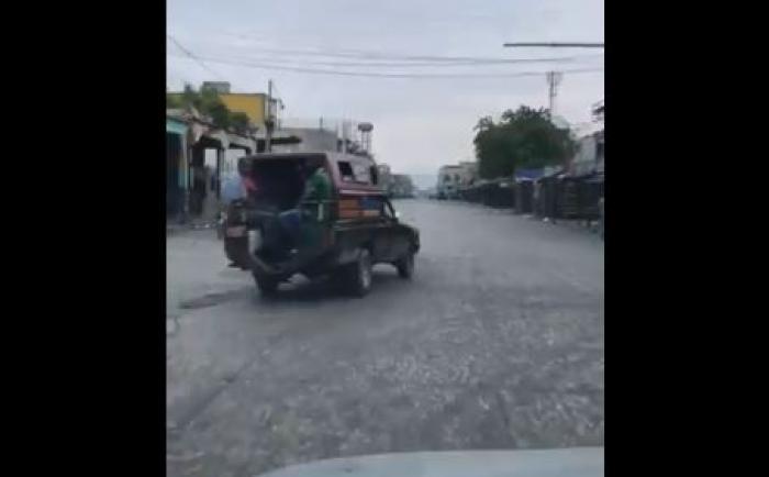 Port-au-Prince, ville morte depuis 72 heures