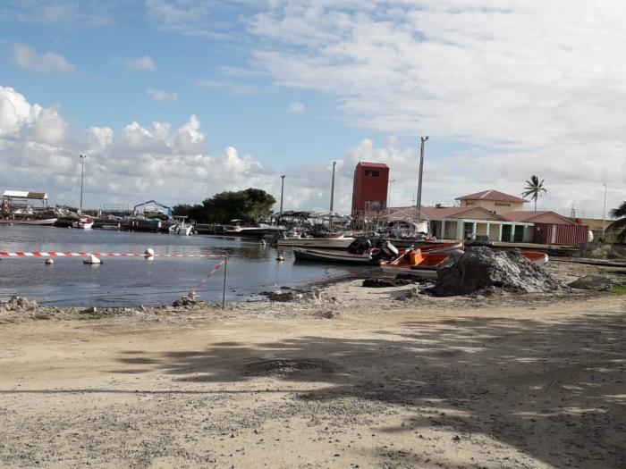 Port de pêche du Vauclin : le plus gros des travaux débutera la semaine prochaine