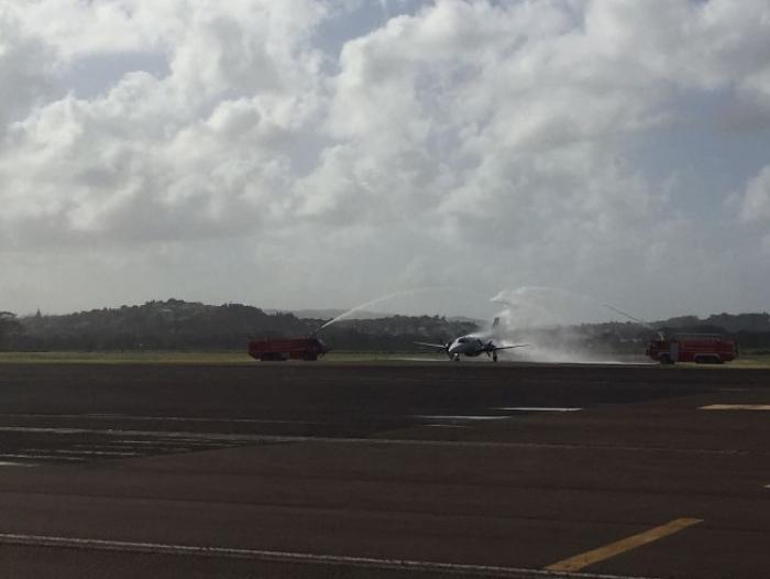 Premier vol commercial pour Ava-Air