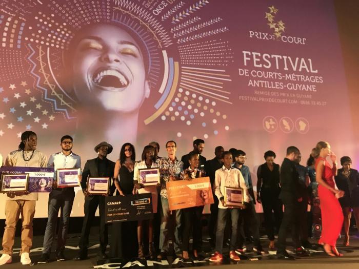 Prix de courts : Philippe Passon de la Guyane récompensé