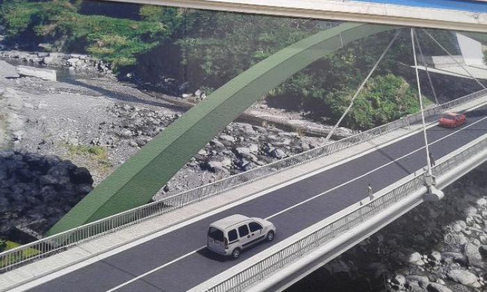 Prêcheur : un pont futuriste pour ne plus être coupé du reste de l'île