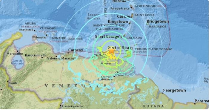 Puissant séisme au Vénézuela