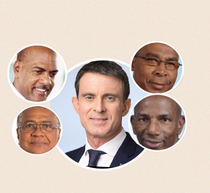 Quatre parlementaires martiniquais soutiennent la candidature de Manuel Valls