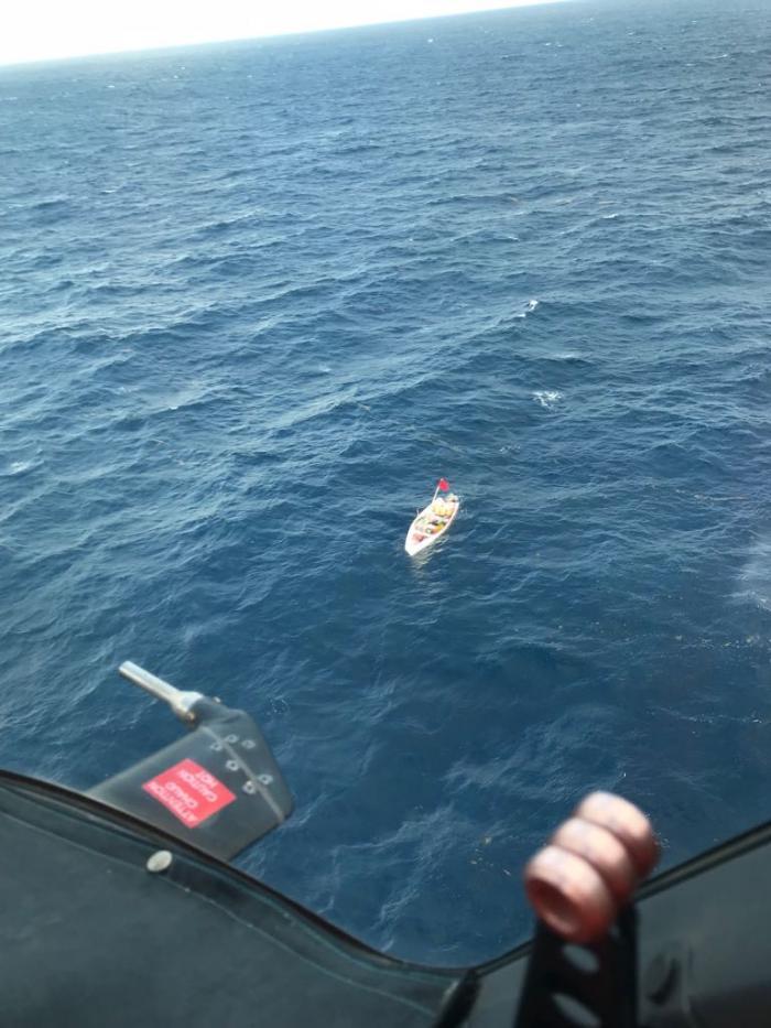 Quatre pêcheurs Sainte-Luciens secourus au large de nos côtes