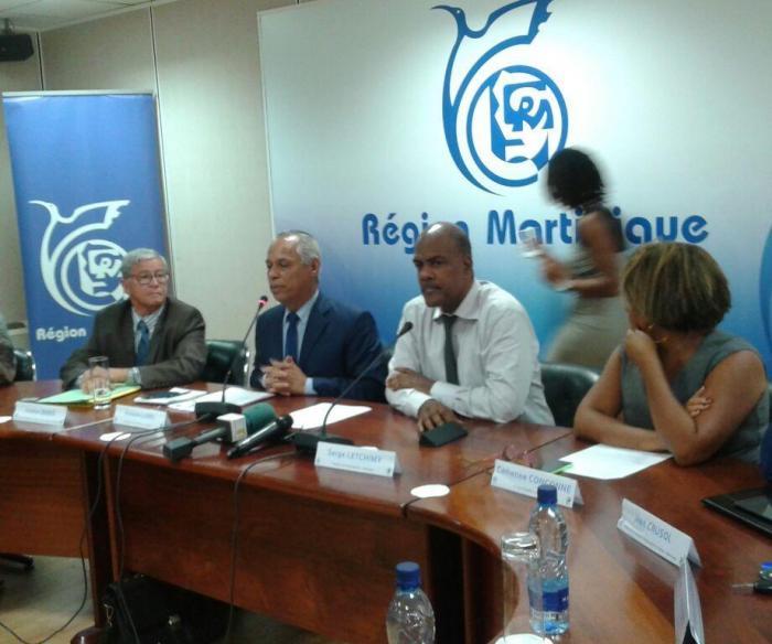 Rencontre bilatérale entre Serge Letchimy et Victorin Lurel