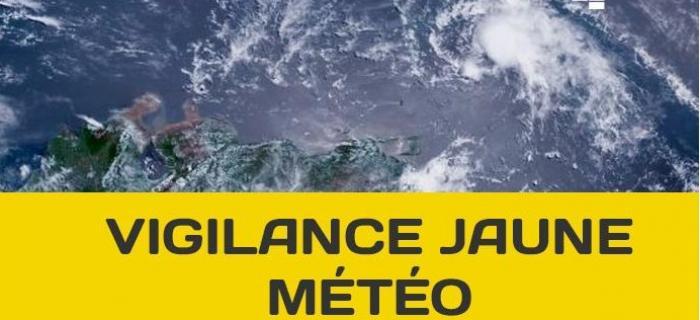 Retour au niveau JAUNE pour la Guadeloupe