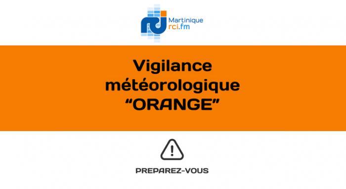 Retour de la Martinique en vigilance orange. Des pluies sont toujours à craindre dans la nuit