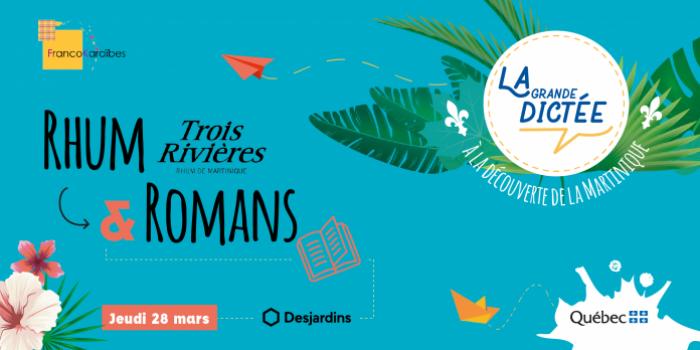 """""""Rhum et Romans"""": la littérature antillaise s'invite à Montréal"""