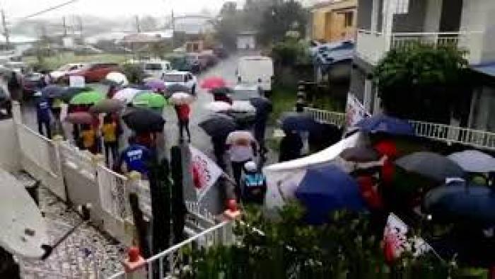 Récap du 1er mai: les syndicats défient la pluie