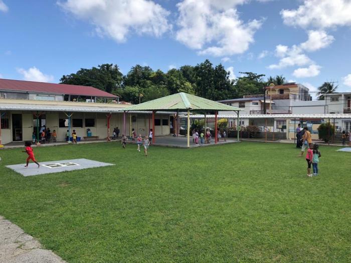 Réouverture de l'école Pierre Cirille à Trinité