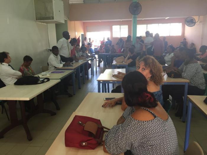 Réouverture du collège Félix Eboué et du Lycée les Droits de l'Homme à Petit-Bourg