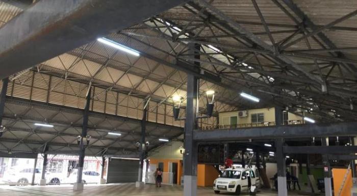 Réouverture du grand marché de Fort-de-France, ce lundi