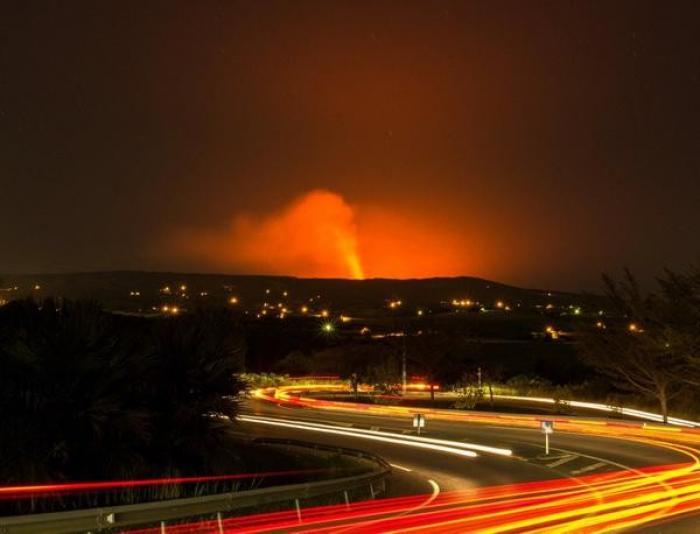 Réunion : le piton de la Fournaise est entré en éruption !