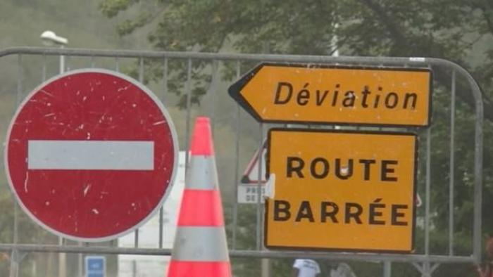 Route fermée à la Regrettée à Trois-Rivières