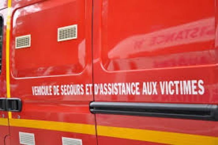 Saint-François : important feu dans un champ de canne