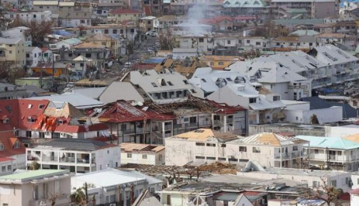 Saint-Martin : 15% des batîments impropre à l'habitation