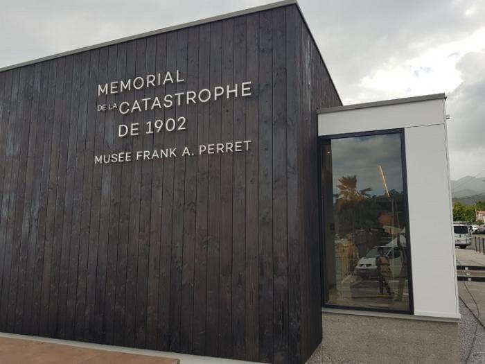 Saint-Pierre: Inauguration du Mémorial de la Catastrophe de 1902-Musée Frank A. Perret