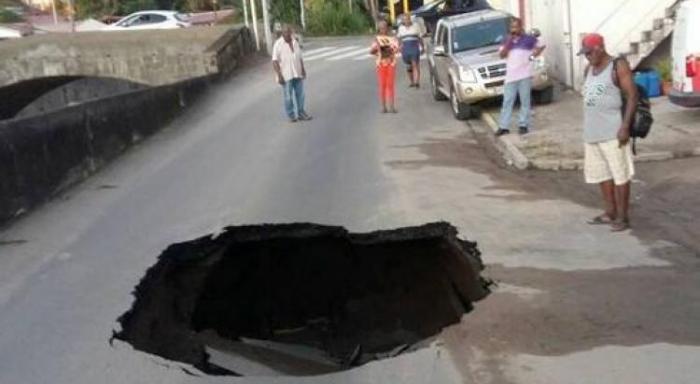 Saint-Pierre : la réparation de la route estimée à 92 000 € environ