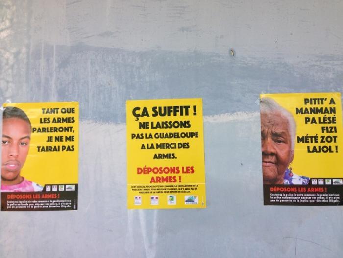 Sainte-Anne : le collège Eugène Yssap sensibilisé contre la violence
