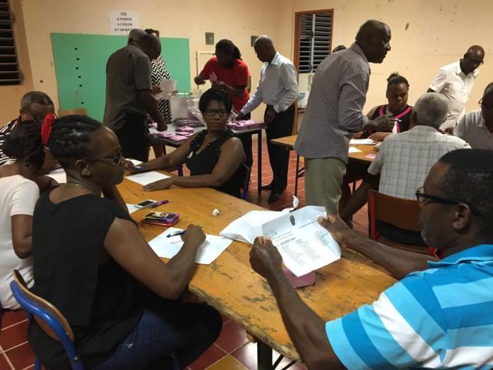 Sainte-Marie : la soirée électorale sur RCI