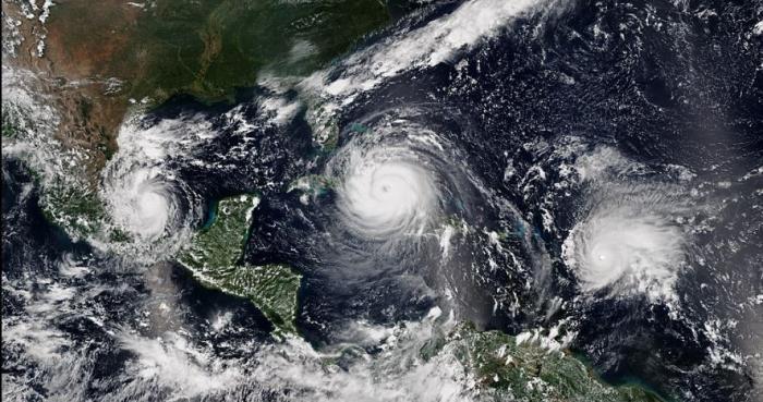 Saison cyclonique : les prévisionnistes américains prévoient trois ouragans majeurs