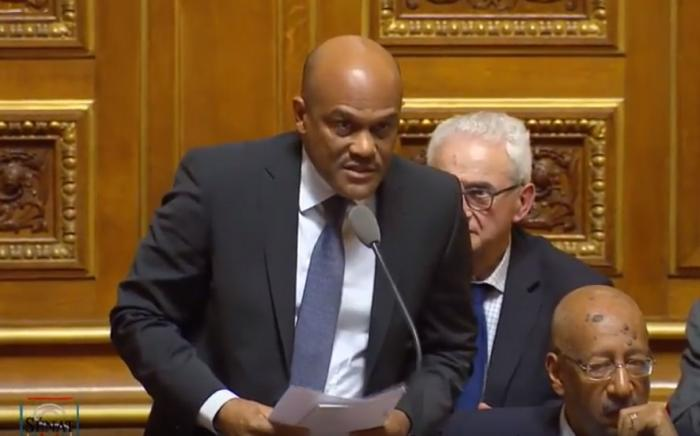 Sargasses : Dominique Théophile interpelle le gouvernement au Sénat