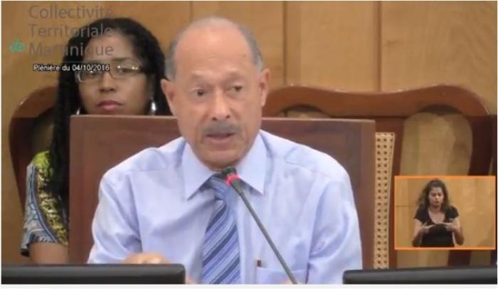 Seconde journée de la plénière de l'Assemblée de Martinique (CTM) ce mercredi 05 octobre 2016 - A SUIVRE EN STREAMING VIDEO -