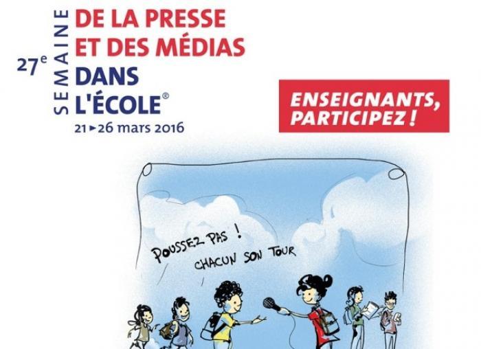 Semaine de la presse et des médias à l'école