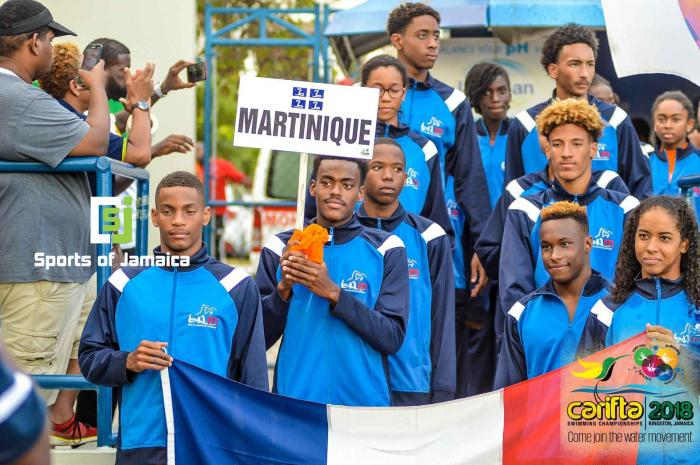 Sept médailles pour les nageurs martiniquais aux Carifta