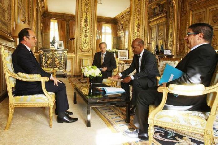 Serge Letchimy (Martinique) et Victorin Lurel (Guadeloupe) reçus par François Hollande cette  semaine à l'Elysée