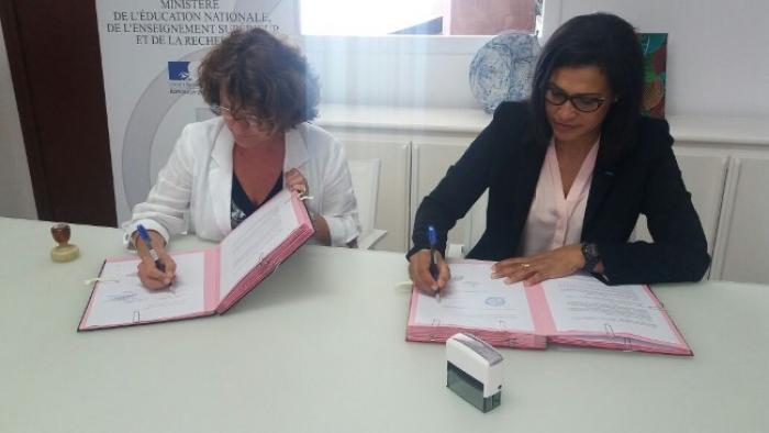Signature d'une convention de partenariat pour les formations au métier du transport