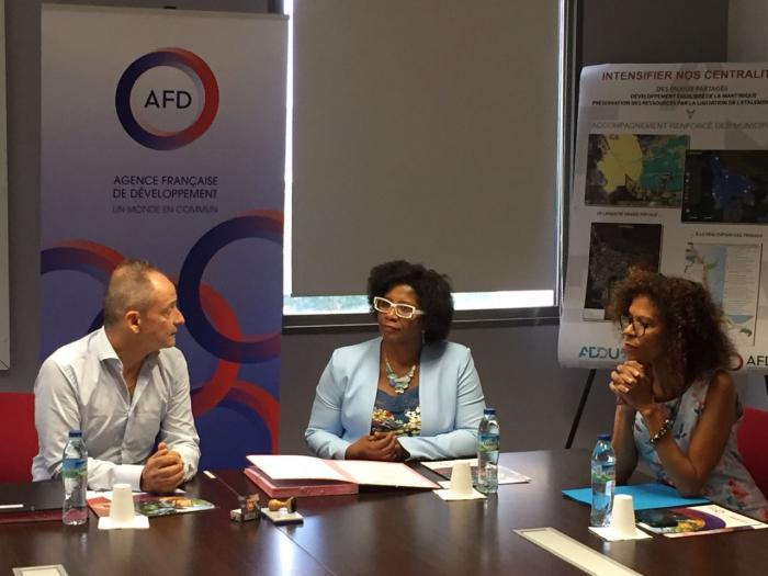 Signature d'une convention entre l'Adduam et l'AFD