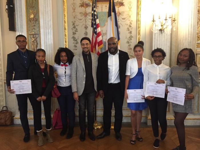Six jeunes ambassadeurs antillais aux États-Unis
