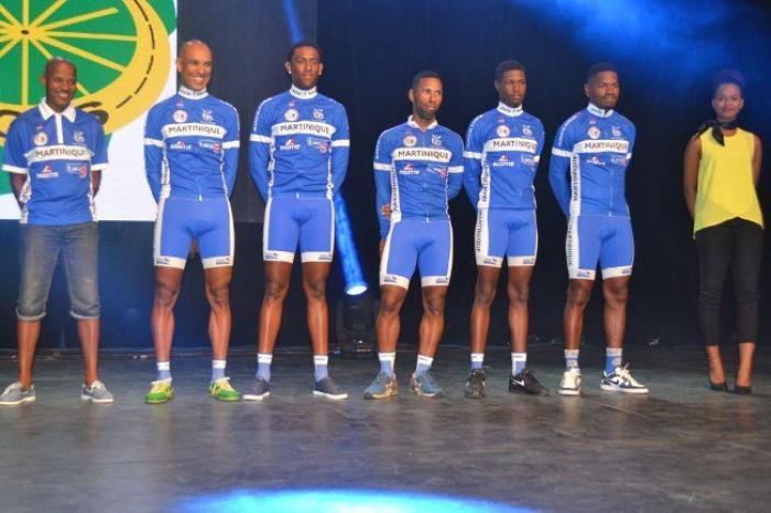 Six Martiniquais au tour cycliste de Guyane