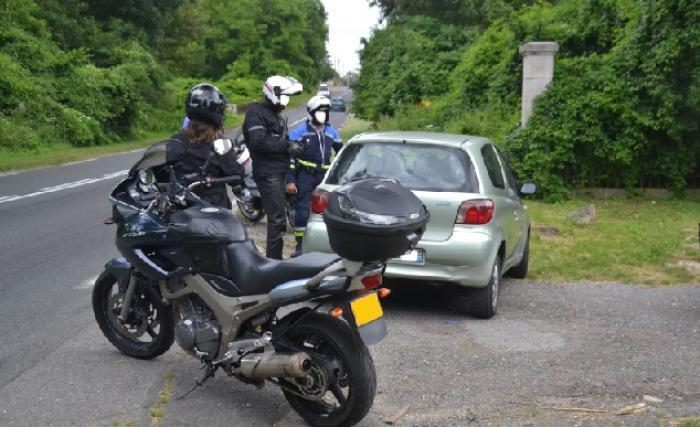 Sécurité routière : place aux discrets motards de la gendarmerie
