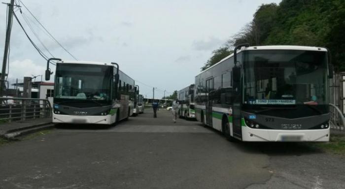SOTRAVOM : toujours pas de bus pour plusieurs lignes de Schoelcher et Saint Joseph