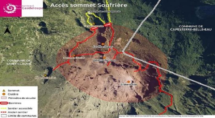 Soufrière : tout savoir sur le nouveau périmètre de sécurité