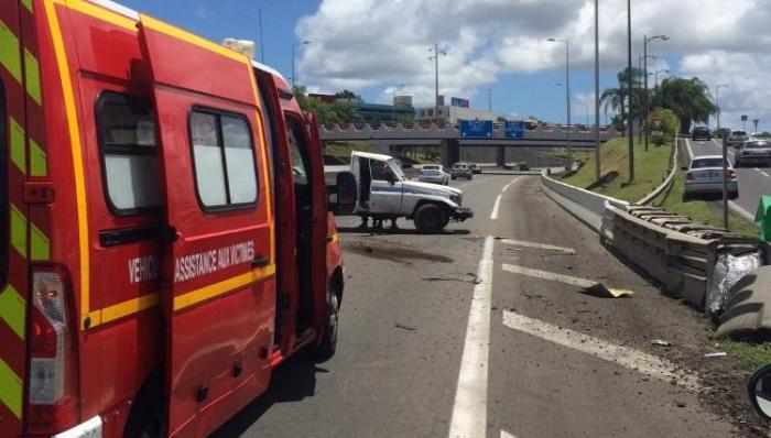Spectaculaire accident sur l'autoroute ce matin !