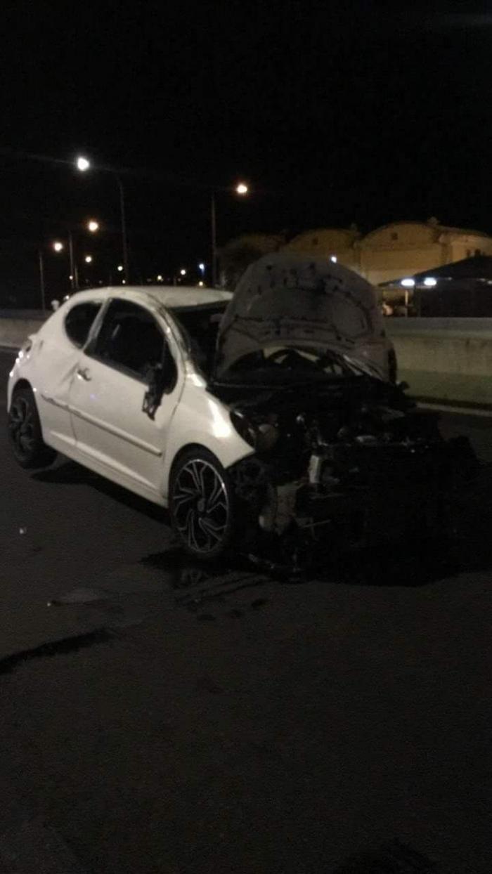Spectaculaire accident sur l'autoroute cette nuit
