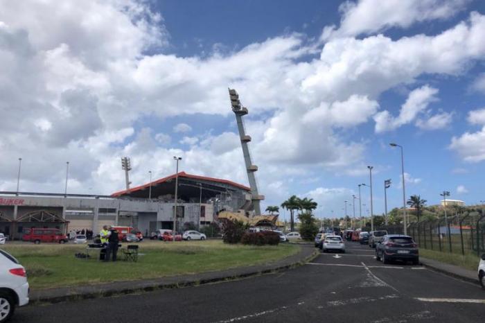 Stade Pierre Aliker : incendie d'une armoire électrique. Arrêt des évènements et activités nocturnes