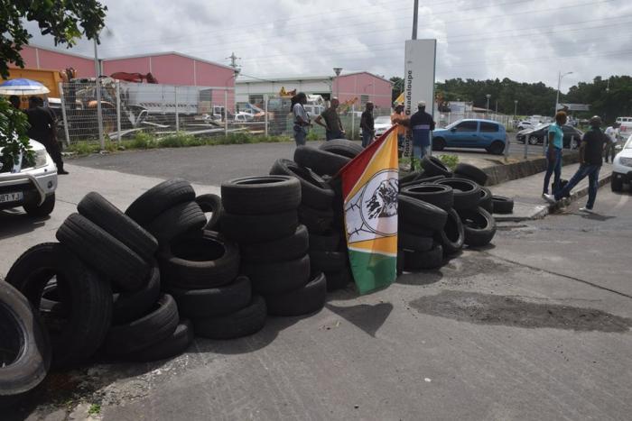 Suspension du conflit à Routes de Guadeloupe