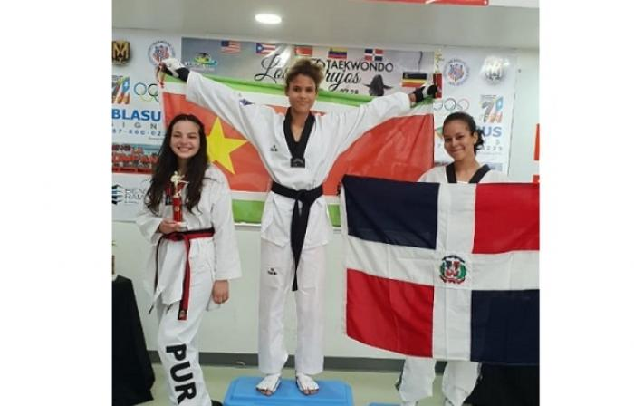 Taekwondo : Jeanne Delaye et la Guadeloupe brillent à Porto Rico