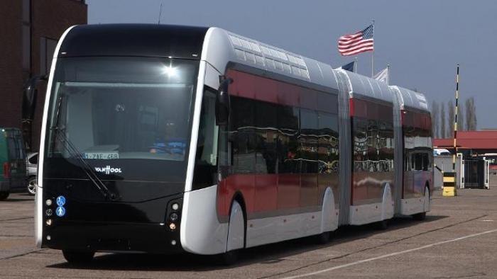 TCSP : un 1er Bus à Haut Niveau de Service sorti d'usine