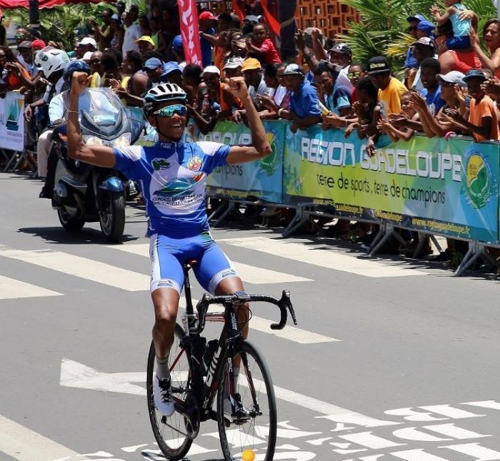 #TDG2016 - 8e étape : Yolan Sylvestre du Club Martinique vainqueur du 1er tronçon