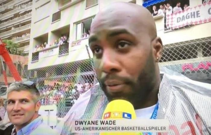 Teddy Riner confondu avec Dwayne Wade