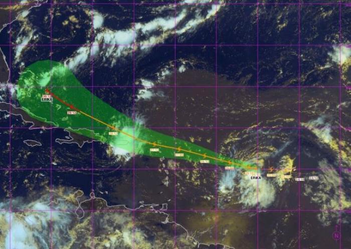 Tempête Ericka : pas de vigilance particulière pour la Martinique