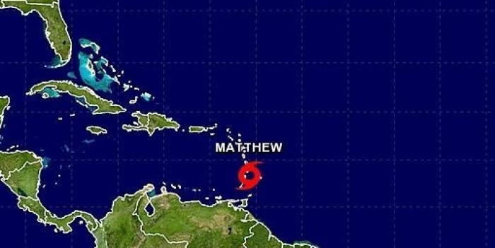 Tempête Matthew : la Guadeloupe reste en vigilance orange