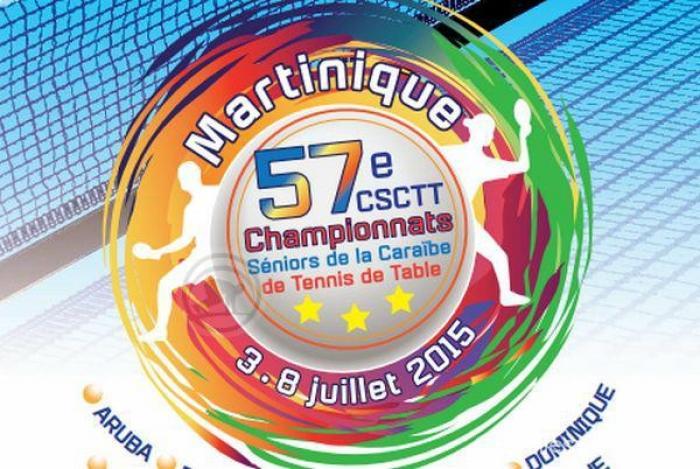 Tennis de table : un rendez-vous caribéen en Martinique